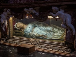 Embalmed Corpse in a Church