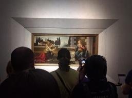 da Vinci, Uffizi