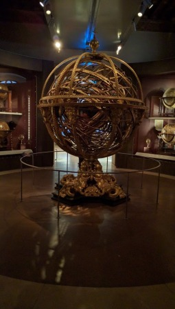 Galileo Museum (how they thought our universe looked like)