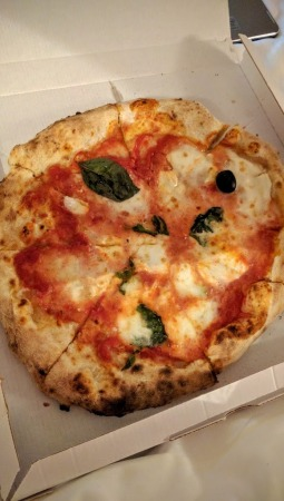 Margherita (best pizza we had!)