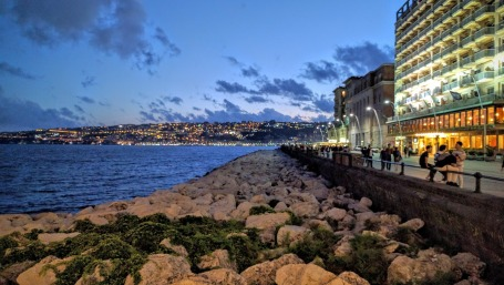 Nightime in Naples