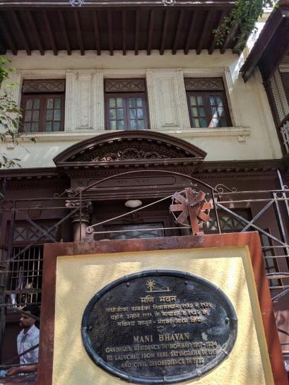 Gandhi's house