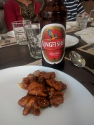 Chilly chicken and yummy kingfisher