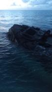 Triangle shipwreck