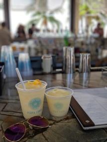 Drinks at Playa Largo