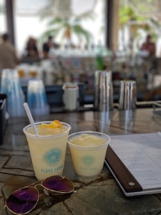 Drinks at Playa Largo