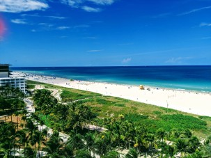 Miami Beach, view from the room
