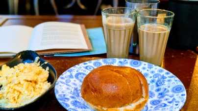 Bun Maska at Dishoom