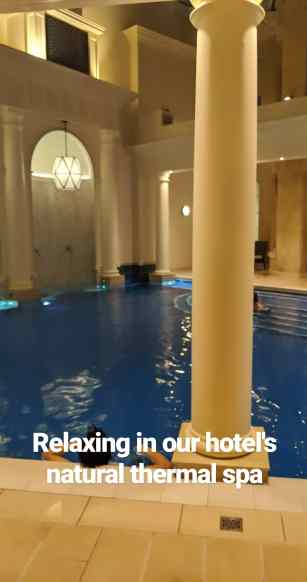 The Thermal Baths at the Gainsborough Hotel